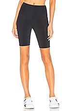onzie High Rise Bike Short in Black