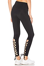 onzie Laced Up Legging in Black