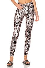 onzie High Rise Legging in Leopard