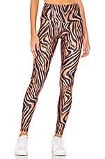 onzie High Rise Legging in Tiger