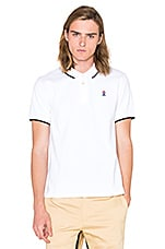 Torch Classic Fit S/S Polo en Blanc