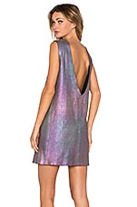 ROBE COURTE HOLOGRAPHIC