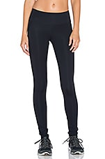 Hot Date Sport Legging in Black Opaque