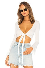 OW Intimates Abby Top in White