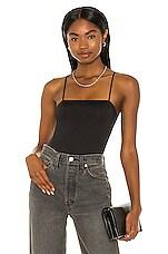 OW Intimates Willow Bodysuit in Black