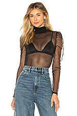 OW Intimates Bella Bodysuit in Black