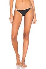 The Serge Bikini Bottom in Black