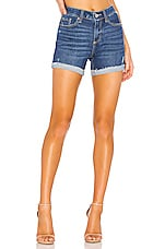 PAIGE Parker Relaxed Short in Marquette Destructed