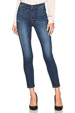 PAIGE Hoxton High Rise Ankle Skinny in Idlewild