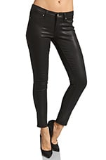 Denim Verdugo Skinny in Black Silk