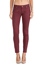Ollie Skinny with Faux Pockets in Shiraz Silk