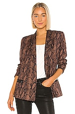 PAIGE Karissa Blazer in Brown