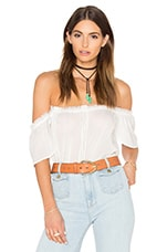 Lucille Top in White