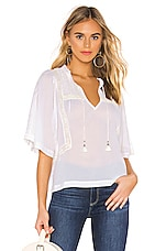 PAIGE Larina Top in White