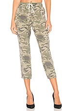 Pam & Gela Lace Up Pant in Clay Camo