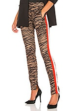 Pam & Gela Tiger Cigarette Track Pant in Natural