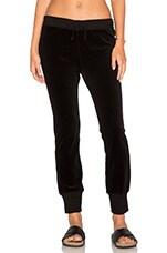 Betsee Velour Sweatpants in Black