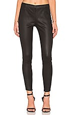 Coated Sateen Legging en Black Coated