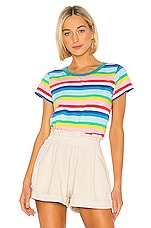 Pam & Gela Spring Rainbow Tee in Multi