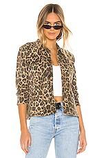 Pam & Gela Leopard Army Shacket in Leopard