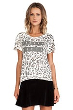 Distressed Crew in Pretty Kitty Leopard