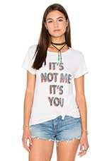T-SHIRT RAS DE COU LOGO IT'S NOT YOU