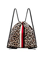 Pam & Gela Leopard Backpack in Leopard