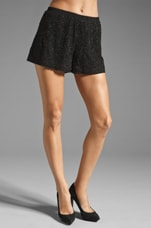 Topaz Short in Black/Black Beading