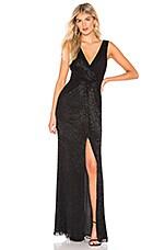 Parker Black Monarch Dress in Black