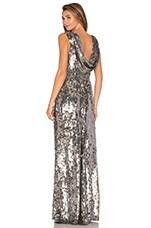 Parker Black Tatiane Sequin Dress in Silver