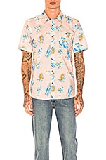 Patagonia Go To Shirt in C Street Feather Pink