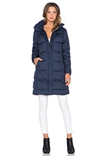 Patagonia Down With It Parka in Navy Blue