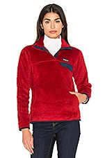 Patagonia Re-Tool Snap-T Pullover in Raspen Red X