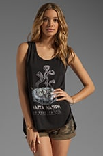 x the man repeller Matza Mayhem Tank in Black