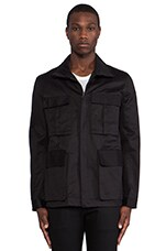 Post Bellum Field Jacket in Noir