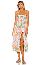 Paloma Blue Erin Dress in Mimosa Pink