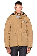 Apex Down Insulated Parka Jacket en Fauve