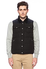 Penfield Stapleton Vest in Black