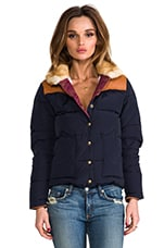 Penfield Rockwool Down Insulated Jacket in Navy