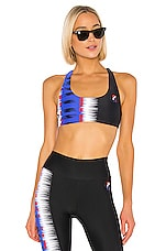 P.E Nation Rerun Sports Bra in Print Multi