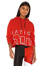 P.E Nation Restart Hoodie in Red