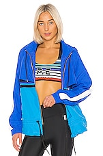 P.E Nation Trackbar Jacket in Blue