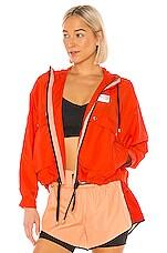 P.E Nation Cutshot Jacket in Red