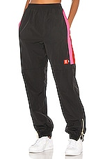 P.E Nation Saber Pant in Pink & Black