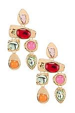 petit moments Stone Earrings in Multi