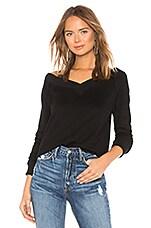n:philanthropy Mayer Sweatshirt in Black Cat