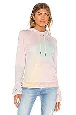n:philanthropy Gamble Sweatshirt in Sherbert Rainbow Tie Dye