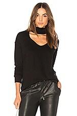 n:philanthropy Bae Sweatshirt in Black Cat