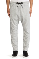 Sweatpants in Light Grey