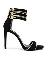 Strappy Heel in Black